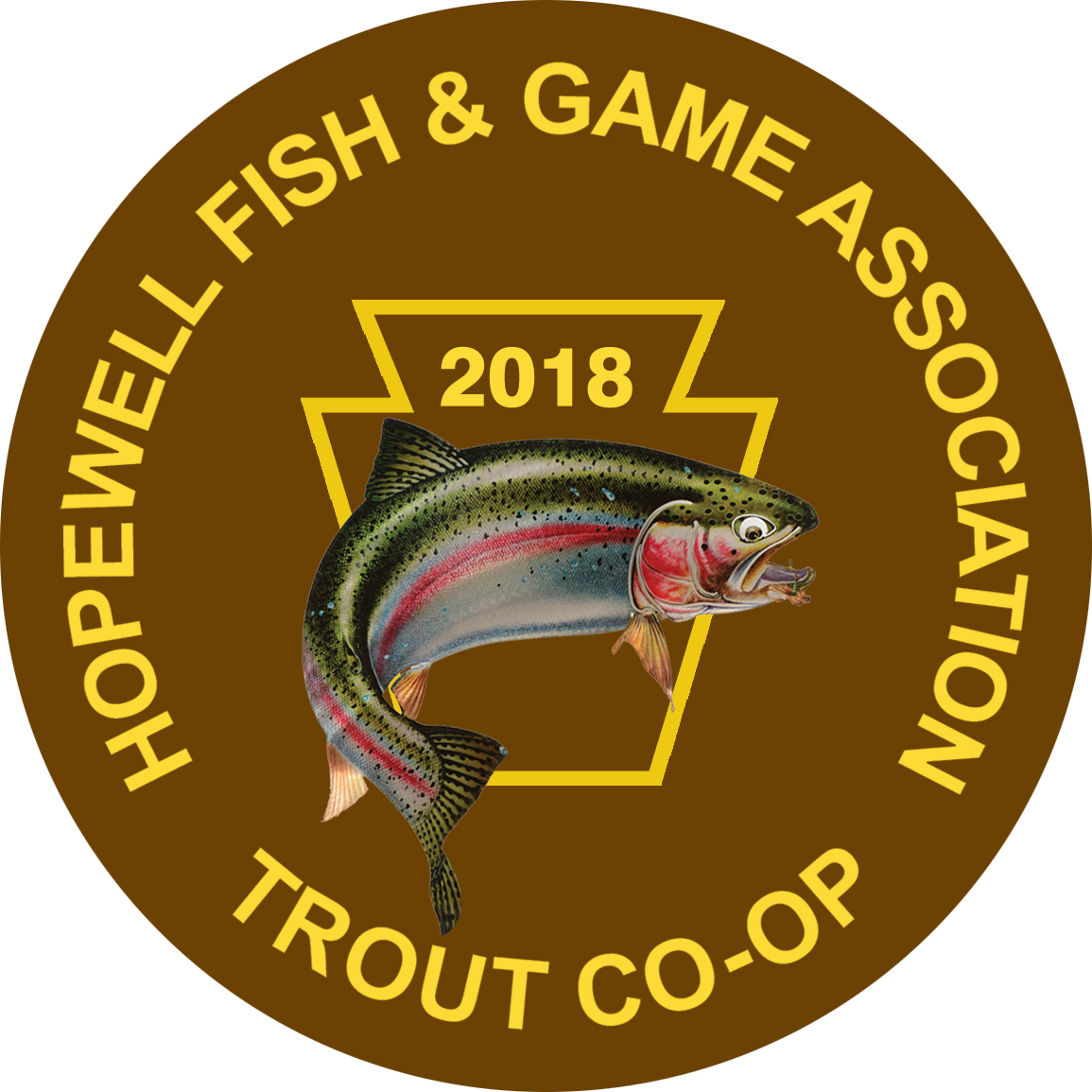 hopewell fish and game association trout co op stocking